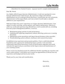System Architect Cover Letter by Post Comment