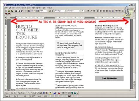 cara membuat brosur sekolah sederhana cara membuat brosur tutorial panduan carapedia