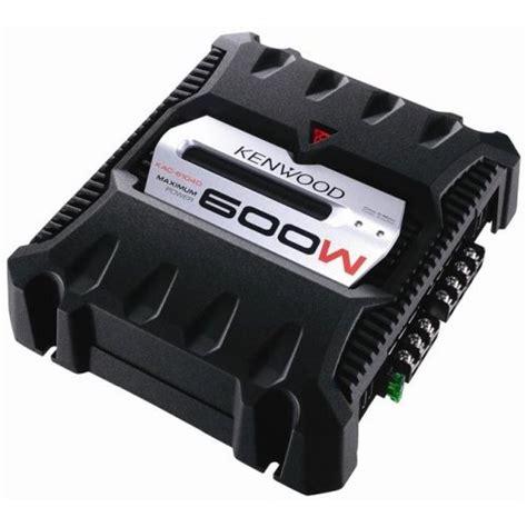 kenwood kac 6104d 600 watt max power class d mono power lifier with variable lpf