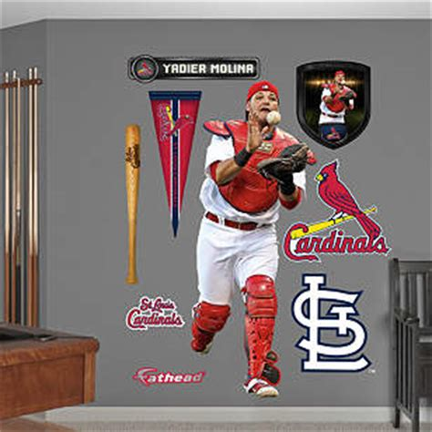 Molina Sweepstakes - life size yadier molina wall decal shop fathead 174 for st louis cardinals decor