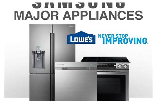 appliance coupons canada