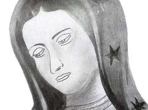 imagenes a lapiz de la virgen maria dibujo virgen de guadalupe drawing virgin guadalupe