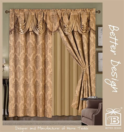 Luxury Modern Curtains Decor For Sale Cheap Curtain Sets Cheap Curtain Sets Wholesale Suppliers Product Directory