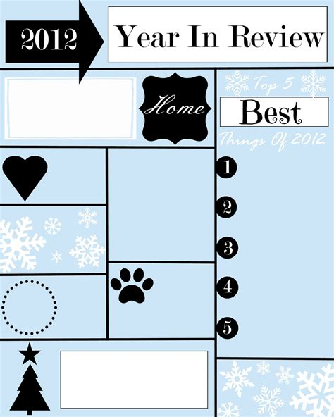 year review christmas letter template stonegable