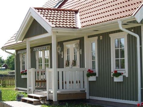 tolle ideen fuer amerikanisches holzhaus mit veranda