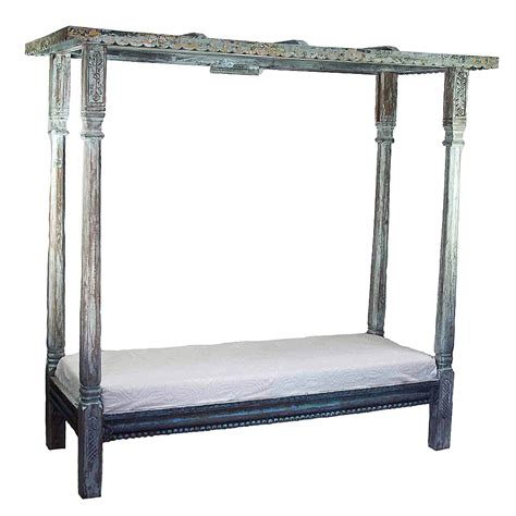 vintage canopy bed vintage canopy daybed omero home