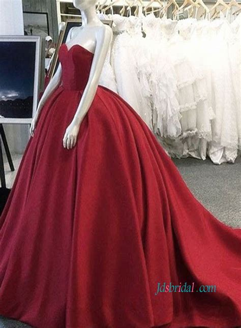 burgundy color prom dress pd18057 burgundy color evening gown prom