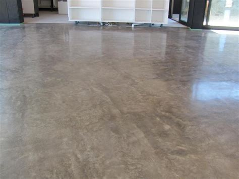 Concrete Floor Finishes Limestone Concrete Exposed Cement Basement Floor Ideas