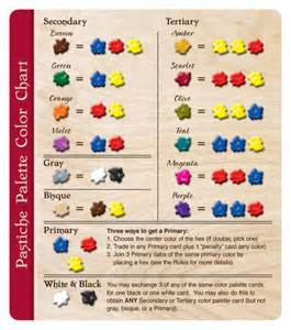 what colors make what colors w eric martin image boardgamegeek