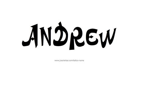 Andrew Name Tattoo Designs Designs Name