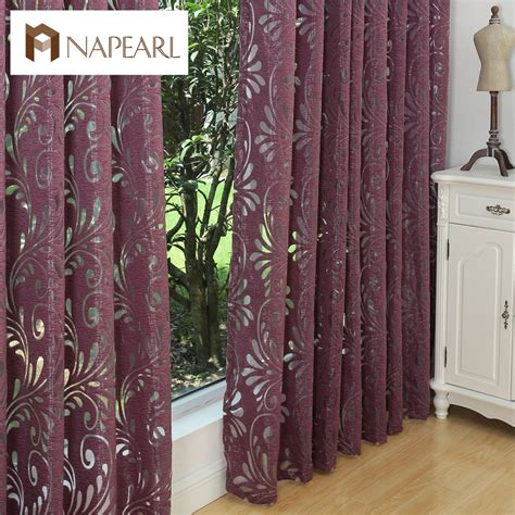 curtains with 2 different fabrics multiple colors ready made semi blackout curtains blind