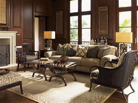 tommy bahama living room royal kahala edgewater sofa lexington home brands