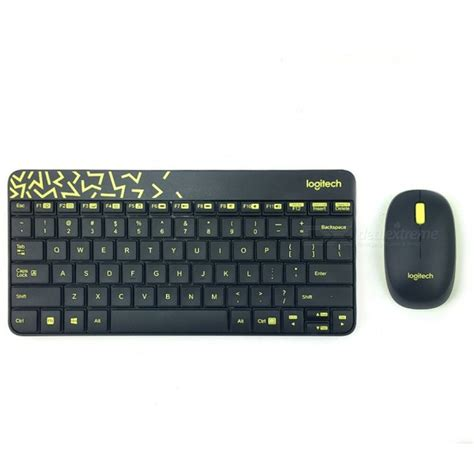 Keyboard Wireless Logitech Mk240 logitech mk240 nano 79 key wireless keyboard w 1000dpi mouse black yellow 4 x aaa free