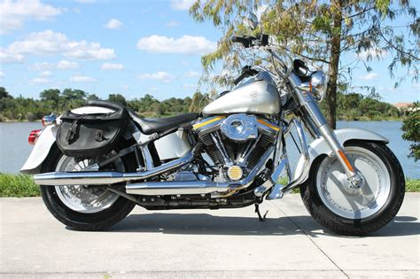 Harley Davidson Grey 1990 harley davidson fatboy grey ghost