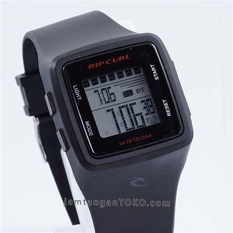 Rip Curl Best Seller Black harga sarap jam tangan rip curl black digital kotak