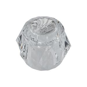Bathtub Knob Replacement by Delta Clear Knob Replacement Handle With Chrome Arrow