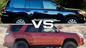 Toyota 4runner Vs Toyota Fortuner Toyota 4runner Vs Toyota Land Cruiser