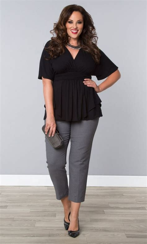 Plus Size Work Wardrobe by Summer Casual Work Ideas For Plus Size 41