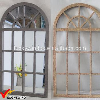 arched wood shabby chic antique window mirror buy antique window mirror window frame mirror