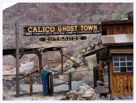 Calico Ghost Town Cing Cabins by Cascade Ramblings Ramblings Calico Ghost Town Barstow
