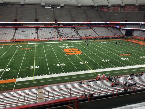 orange county ny section 8 carrier dome section 320 syracuse football