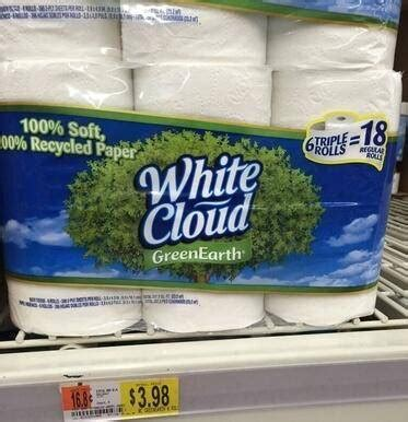 Who Makes White Cloud Toilet Paper - white cloud toilet paper coupons rolls only 0 41