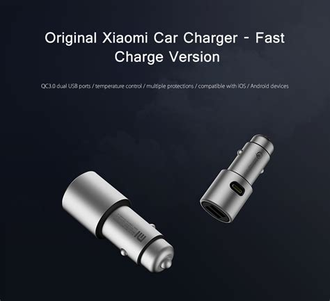 New Original Charger Xiaomi Fast Charging Compatible Asus Lenovo Samsu xiaomi mi car charger charge end 3 10 2018 3 15 pm