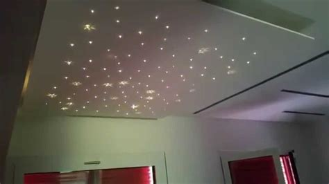 controsoffitto cielo stellato fiber optic led rgb starry sky with swarovski elements