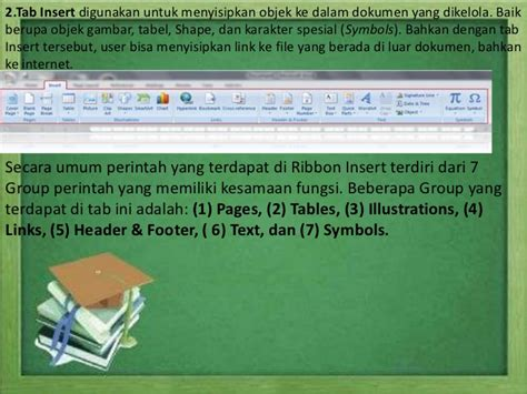 fungsi tab design pada header dan footer tools presentation fungsi menu pada icon