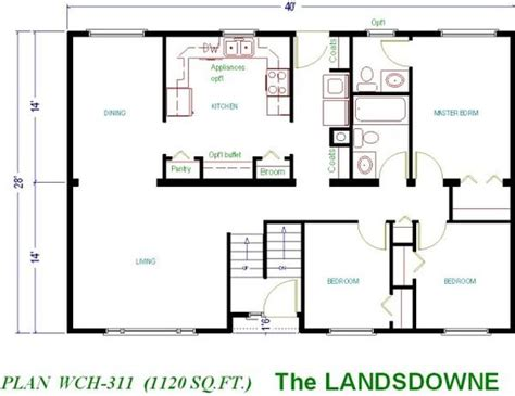 free small house plans 1000 sq ft floor