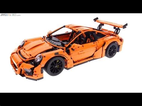 technic porsche 911 gt3 rs technic porsche 911 gt3 rs review 42056 youtube