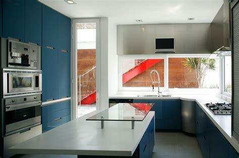 cocinas azules  la cocina mas original hoylowcost