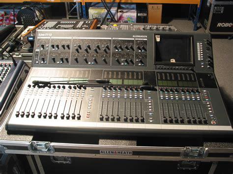 Mixer Allen Heath Ilive T112 photo allen heath ilive t112 allen heath ilive t112