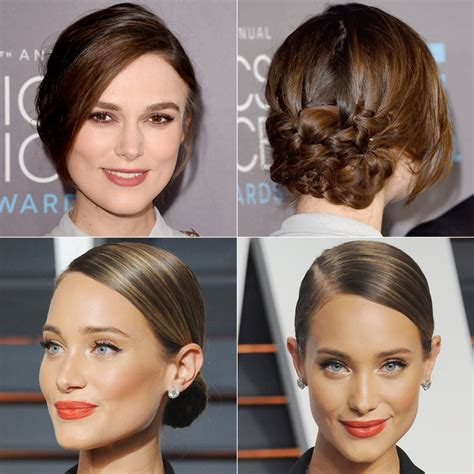updo hairstyles red carpet wedding updos inspired by celebrities instyle com