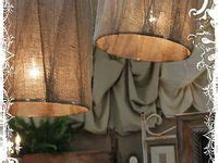 57 best burlap lamp shades images on pinterest burlap