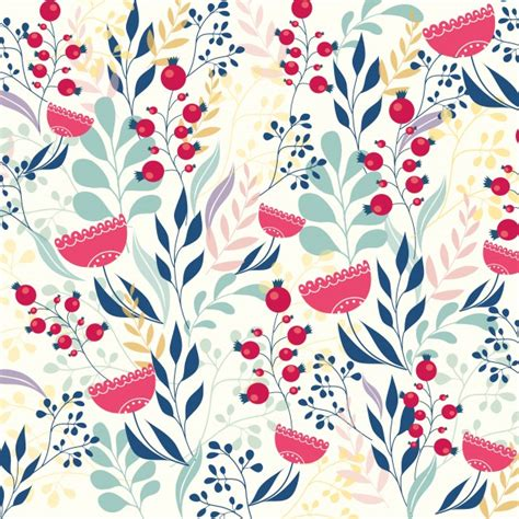 flower pattern modern beautiful modern floral pattern vector free download