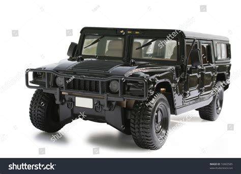 hummer jeep black black hummer jeep on white stock photo 10465585