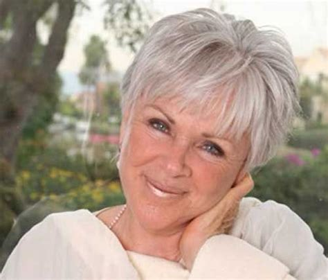gray hair at 60 years 131 best short hair styles for women over 50 60 70