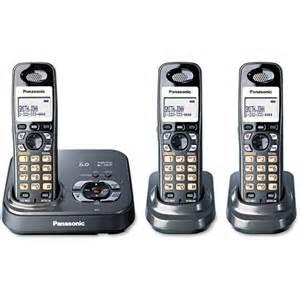 walmart home phones panasonic kx tg9333t cordless phone walmart