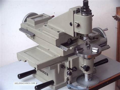 Sold Henri Hauser M1 Jig Borer With Motor And Spindle