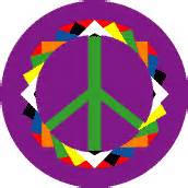 Origami Peace Sign - cool groovy peace signs 1960s 1970s peace signs