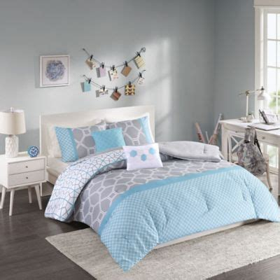 buy grey comforter sets from bed bath beyond
