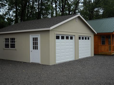 garage plans and prices 24 x24 two car garage custom built garages sales prices