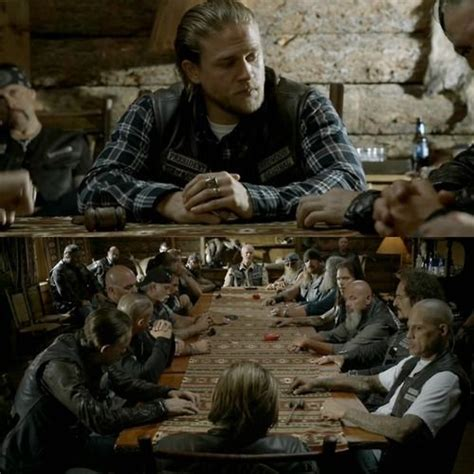 Sons Of Anarchy Meeting Table 19 Best Images About Sons Of Anarchy On Seasons Tvs And Katey Sagal