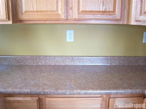 Six Dollar Kitchen Countertop Transformation Countertops Contact Paper For Kitchen Countertops