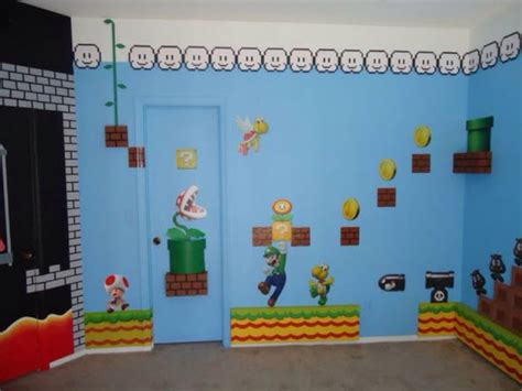 super mario home decor super mario brothers bedroom decor 5 small interior ideas