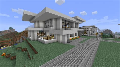 neighborhood house modern neighborhood house eight hd download minecraft project