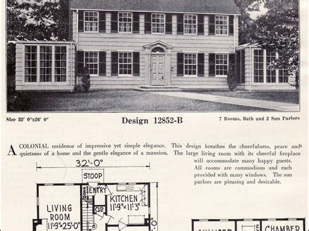 colonial revival homes floor plans