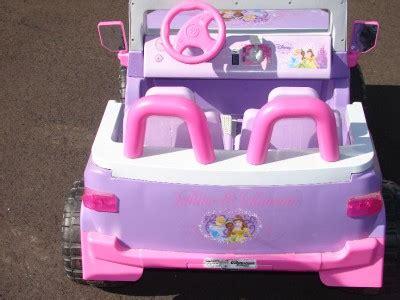 Disney Princess Jeep Disney Princess Fj Cruiser Jeep Power Wheels Type Vehicle