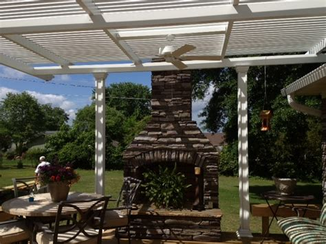 Patio Design Greenville Sc Add A Louvered Roof Patio Cover To Your Deck In